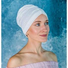 Модель Натали 23-32 N WHT, головной убор после химиотерапии