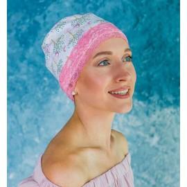 Модель Нежность 28-12 N PINK, головной убор после химиотерапии