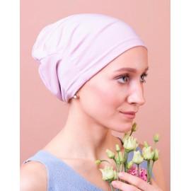Модель Комфорт 5006-о-pink, головной убор после химиотерапии